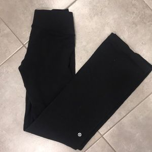 Lululemon crossed waistband yoga pants